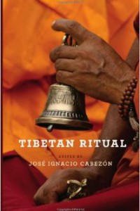 bookcover of book edited by Jose Cabezon titled Tibetan Ritual